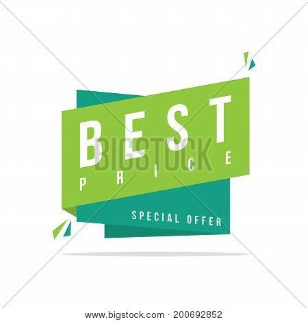 Best price Discount offer price label vector illustration