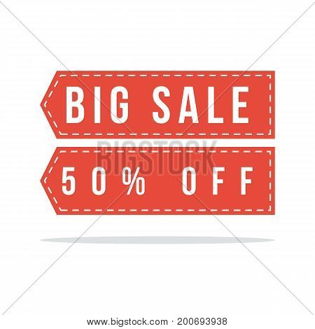 Price label spesial offer sale style collection vector illustratio