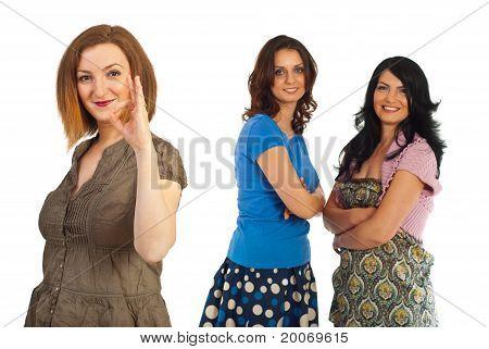 Successful Friendship Of Women