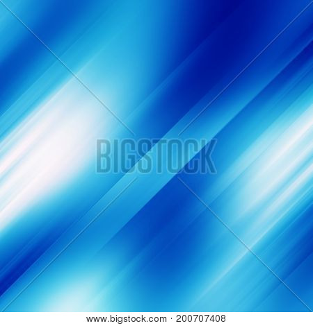 Abstract blue motion background with speed effect
