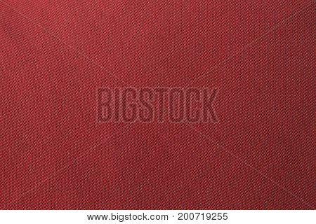 The red fabric texture background. Red carpet texture