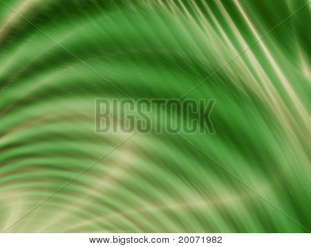 Wave green design
