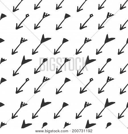 Arrow seamless pattern for your design.. textile pattern