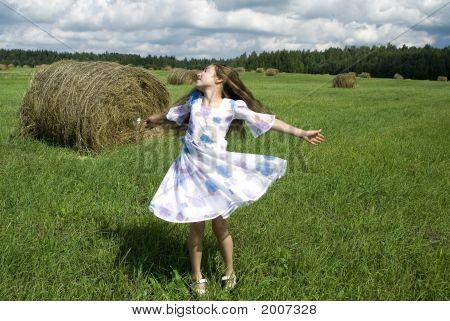 Dancing Girl I