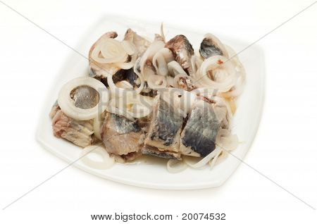 Herring with onions