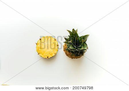 Slices Of Fresh Pineapple