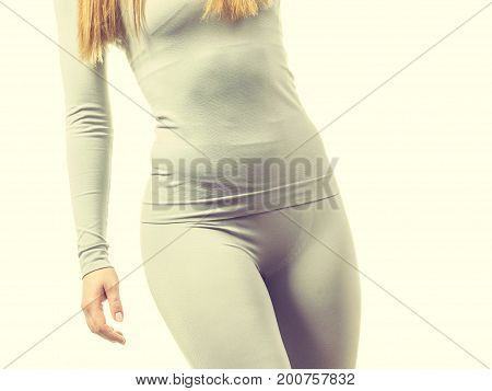 Female Hips Wearing Thermoactive Underwear