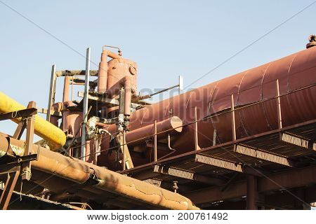 not legal oil processing oil refinery. oil production. the production of diesel