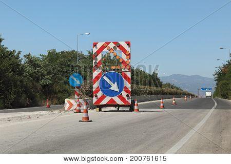 Highway Reconstruction In Greece