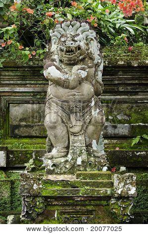Religious Figure In Bali Indonesia
