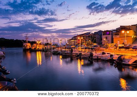 Tribunj Croatia Landscape Beautiful Ocean Vacation Destination European Tourism Mediterranean