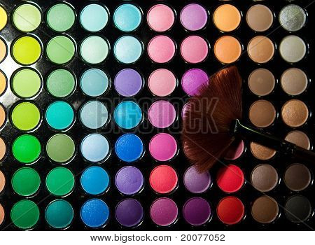 multicolor eyeshadow palette