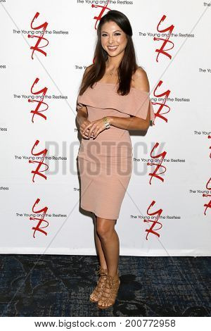 LOS ANGELES - AUG 19:  Laur Allen at the Young and Restless Fan Event 2017 at the Marriott Burbank Convention Center on August 19, 2017 in Burbank, CA