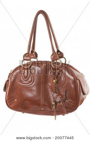 Fashionable Brown Woman Bag