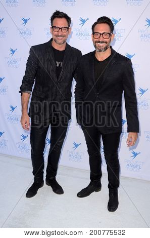 LOS ANGELES - AUG 19:  Lawrence Zarian, Gregory Zarian at the Project Angelfood 2017 Angel Awards Gala at the Project Angelfood on August 19, 2017 in Los Angeles, CA