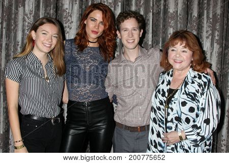 LOS ANGELES - AUG 20:  Alex Wyse, Courtney Grosbeck, Courtney Hope, Patrika Darbo at the Bold and the Beautiful Event 2017 at the Marriott Burbank Convention Center on August 20, 2017 in Burbank, CA