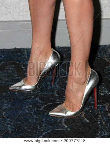 LOS ANGELES - AUG 20:  Heather Tom and shoes at the Bold and the Beautiful Fan Event 2017 at the Marriott Burbank Convention Center on August 20, 2017 in Burbank, CA