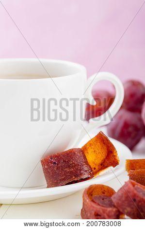 Fruit Leather Of Grape - Pastila Or Tklapi
