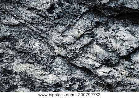 abstract background or texture cracks gray mica surface