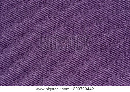 A close-up of purple fabric texture as a background