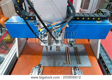 robotic hand machine tool