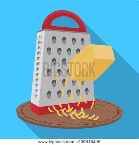 Grinder, single icon in flat style.Grinder, vector symbol stock illustration .