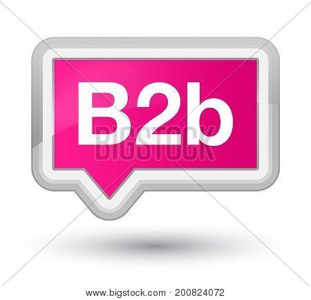 B2B Prime Pink Banner Button