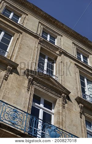 Facade Of A Mansion