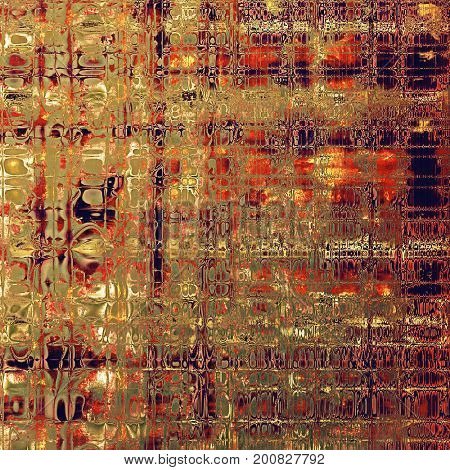 Vintage aged texture, old scratched background. With different color patterns