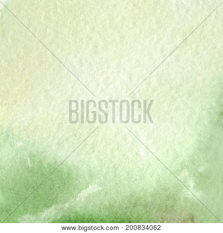 Watercolor light green abstract paper texture background