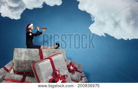 Christmas corporate presents. Mixed media
