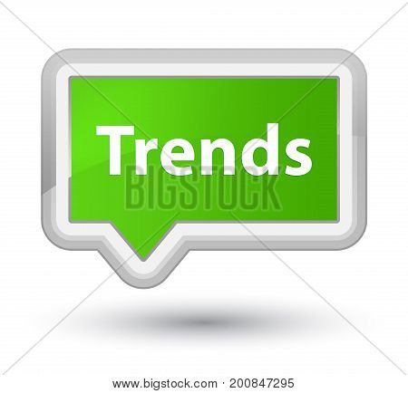 Trends Prime Soft Green Banner Button