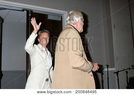 LOS ANGELES - AUG 20:  Brad Bell, John McCook at the Bold and the Beautiful Fan Event 2017 at the Marriott Burbank Convention Center on August 20, 2017 in Burbank, CA
