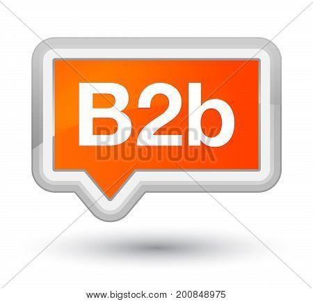 B2B Prime Orange Banner Button