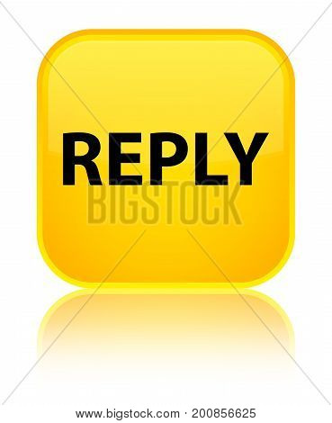 Reply Special Yellow Square Button
