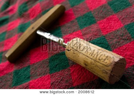 French Wine Cork 1