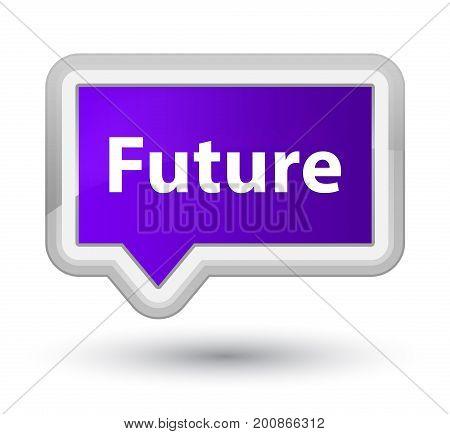 Future Prime Purple Banner Button