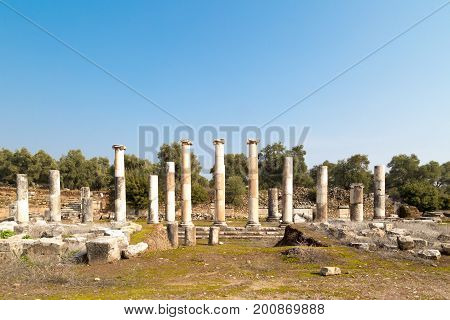 Agora Of Nysa Ancient City