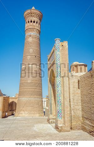 Kalyan Minaret And Kalyan Mosque, Bukhara