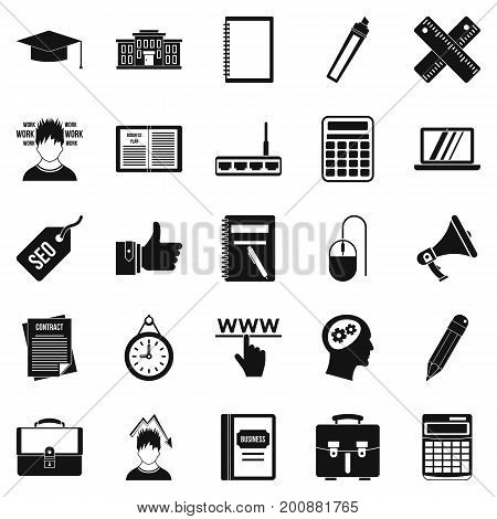 Lombard icons set. Simple set of 25 lombard vector icons for web isolated on white background