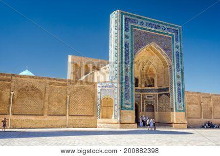 Kalyan Mosque Entrance, Bukhara