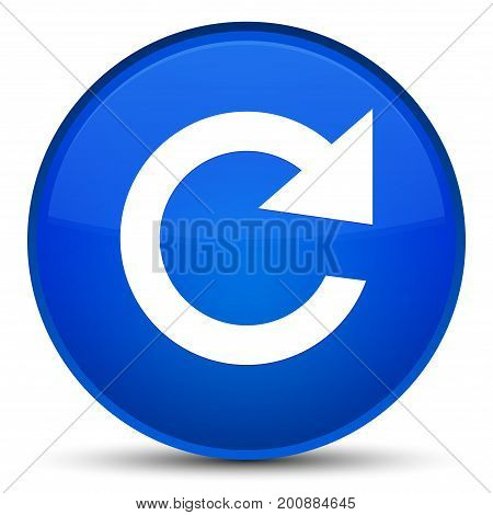 Reply Rotate Icon Special Blue Round Button