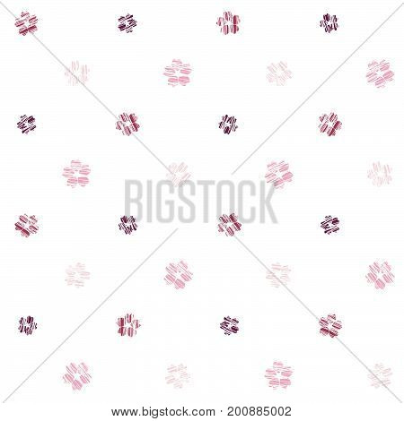 Simple sakura pattern. Seamless. Scratched flowers. Spring symbol texture. Pink petals of Cherry blossoms. Plain japanese backdrop. Can be used for wallpaper, web page background or printing on fabric