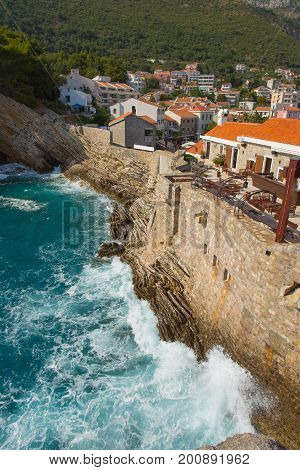 Castello - An Old Venetian Fortress From The Xvi Century In Petrovac