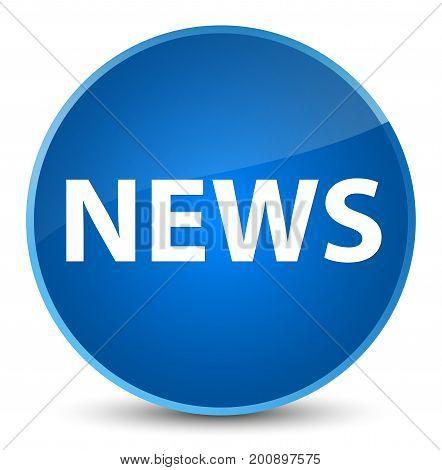 News Elegant Blue Round Button