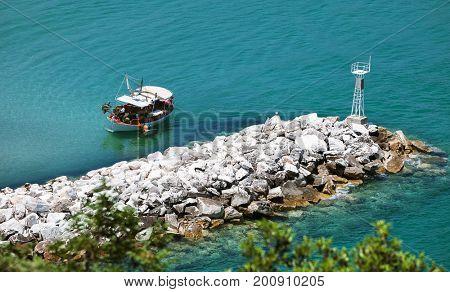 Sea landscape, Thassos, Greece