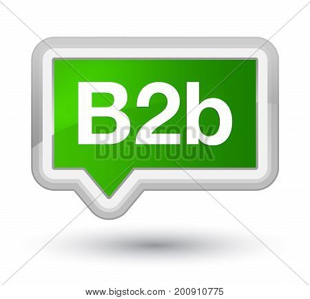 B2B Prime Green Banner Button