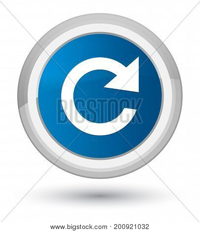 Reply Rotate Icon Prime Blue Round Button