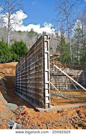 Concrete Wall Foundation