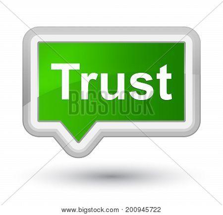 Trust Prime Green Banner Button